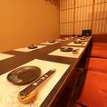 個室は、少人数~大人数まで様々な人数に対応できます。ご宴会から接待・ご親族でのお集まりやデート等に是非。各種ご宴会にもご利用いただけます。