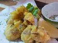 料理メニュー写真淡路島産タコの天ぷら