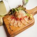 料理メニュー写真熟成鶏の生ハム
