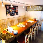 肉 海鮮 チーズ 北海道バル ほろほろの雰囲気2