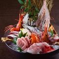 料理メニュー写真【本気漁師】刺し盛り[約二~三人前] 【梅】