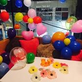 【キラキラの夜景個室】かわいい色使いの店内はとびきりキュート!女子会に最適の個室も多数ご用意!