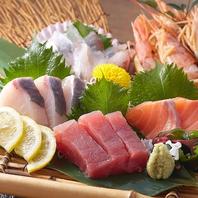 新鮮な海鮮が自慢★お刺身やお寿司、盛り合わせも◎