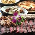 豪華なお肉が食べたい!肉盛りが食べたい!!と、いう方にオススメ!4種のお肉を敷き詰めたまるでお肉のカーペットが目玉のコースです!GOTOEATで豪華なコースを頂きませんか?