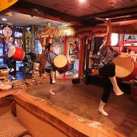 沖縄の太鼓 エイサーのステージ!