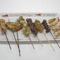 料理メニュー写真串焼き盛り合わせ(おまかせ4種8本)