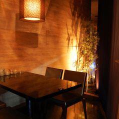 完全個室をご用意!予約必須のお席。