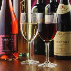 ワインも多数取り揃えております!