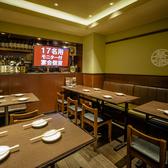 最大17名様でご利用いただけるテーブル宴会個室。歓迎会や送別会、会社の飲み会など各種ご宴会に最適です。