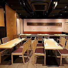 《女性にも大人気》女性にも大人気のテーブル席を各種完備★