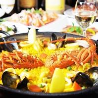 本場スペイン料理を満喫