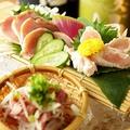 料理メニュー写真鹿児島直送 赤鶏さつま たたき3種盛