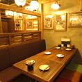 お友達との飲み会やご家族でのお食事にも◎居心地の良い店内で自慢の鹿児島料理とお酒をお楽しみください♪
