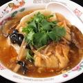 料理メニュー写真酸辣湯スープ餃子