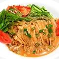 料理メニュー写真≪ランチ≫ バンバンジー冷麺セット