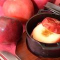 料理メニュー写真焼きリンゴ