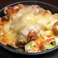 料理メニュー写真チーズダッカルビ風