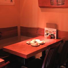 3~4名様にオススメ!広々としたテーブル席となっております!