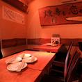 最大8名様までの宴会が可能なテーブル席です!!会社や友人のお集まりにも最適なお席です!