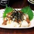 料理メニュー写真梅長芋さっぱり和え/おつまみメンマ/きゅうりもみ/長芋わさび