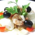 料理メニュー写真魚介類のマリネ