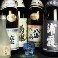 料理メニュー写真こだわりの日本酒各種