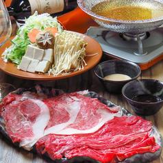 赤身肉としゃぶしゃぶ 晴のおすすめ料理1