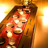 ◆ 少人数向け個室 ◆渋谷での飲み会や合コンにもぴったりなお席もご用意♪個室席なのでプライベート感たっぷり!デートなど特別な日はご予約時にお伝えください♪渋谷で話題の居酒屋をこの機会にぜひご利用下さい♪渋谷でのご宴会、歓送迎会、女性のお客様に大人気の個室席を多数ご用意!