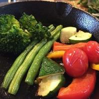 地元野菜にこだわる