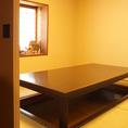和風の完全個室は大人気★畳&掘りごたつの店内は落ち着ける空間♪