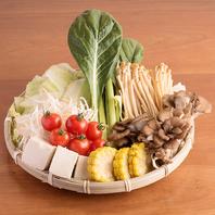 【博多駅2分】新鮮野菜のブッフェコーナー♪
