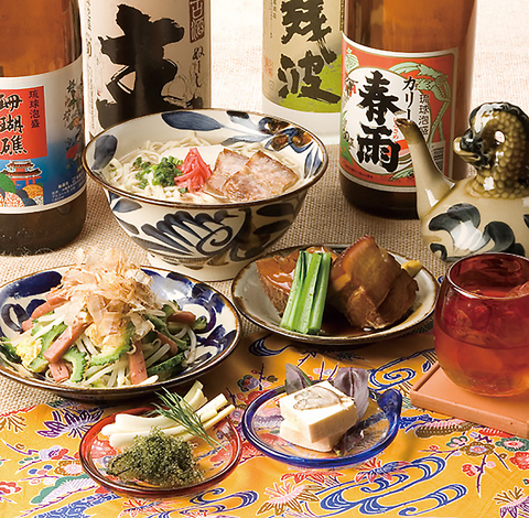東京池袋で沖縄気分を満喫♪美味しい島料理とこだわりの泡盛を取り揃えております!