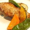 料理メニュー写真鹿児島県産 六白黒豚の厚切りソテー