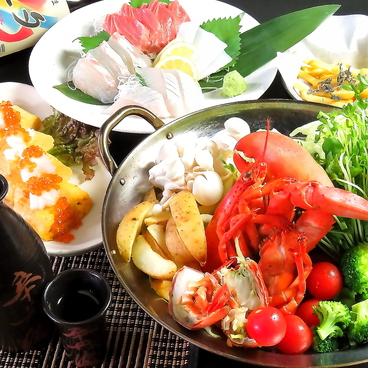 串天 創作Dining ゆるりのおすすめ料理1