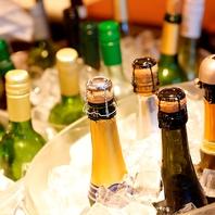 40種以上のワインビュッフェ付コース!各種宴会に◎