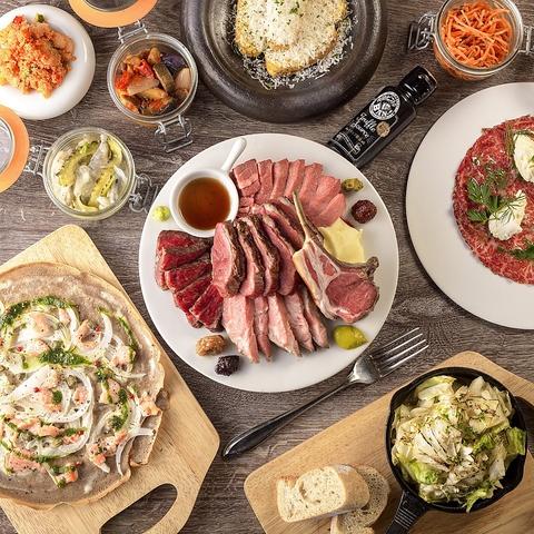 低温調理×ビストロ料理★お酒は原価の、肉専門、本格ビストロ 原価ビストロBAN!