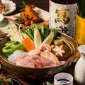 料理メニュー写真阿波尾鶏のすき焼き《地鶏専門個室 瀧口》限定の逸品