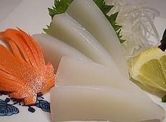 イカ刺(Squid-Sashimi)