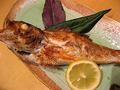 料理メニュー写真高級魚 のどぐろの姿焼き