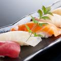 料理メニュー写真本日のおまかせ寿司五貫盛合せ≪並/上≫