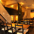 成都高円寺店では貸切もOKです!中華料理屋とは思えぬラグジュアリー空間解放感溢れる当店で、令和初の忘年会に!歓送迎会にも使えます!