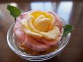 料理メニュー写真薔薇アイス
