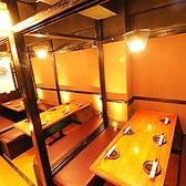 10/20/30名様用など宴会個室多数ご用意しております!大人数様でのご宴会も個室でお楽しみ頂けます。周りに気にせず楽しいひとときをお楽しみください。シートスペースもたっぷり確保しているので広々とお使いいただけます。人数やコース等、お気軽にお電話にてお問い合わせください。◆日本橋 個室 宴会 居酒屋◆