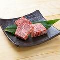 料理メニュー写真米沢牛の厚切りカルビステーキ 一人前