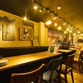 ◆テーブル席2~4名(最大20名様迄の宴会OK)◆ワイワイとした活気を堪能できるお席です♪時間無制限のワインバイキング1980円でご用意しております。種類豊富な白・赤・ロゼ・スパークリングワインをお楽しみ頂けます♪熟成肉×ワインの最高な組み合わせを存分にお楽しみください!