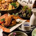 料理メニュー写真【銘柄・阿波尾鶏】3H飲放付豪華8品コース3,499円