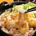 料理メニュー写真もつすきチーズ鍋