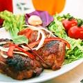 料理メニュー写真若鶏の照り焼きロースト
