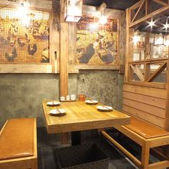 ぬくもりをもたらす和みの空間★ゆったりテーブル席は4名様!