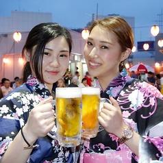 立川天空ビアガーデン 2017の雰囲気1